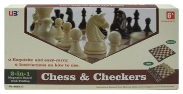 Stalo žaidimas Šachmatai ir šaškės