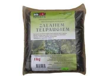 Bioloģisks mēslojums zaļiem telpaugiem 1kg