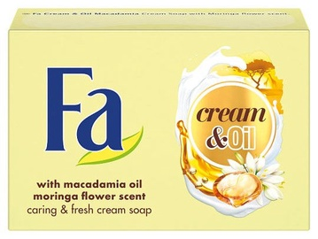Fa Cream & Oil Macadamia Cream Soap 90g