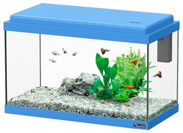 Akvariumas Aquatlantis Funny Fish 50, mėlynas, 40 l, su įranga