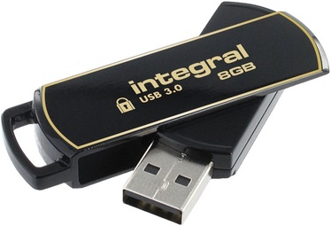 Integral 8GB AES 256-bit SecureLock 360 USB 3.0 Flashdrive