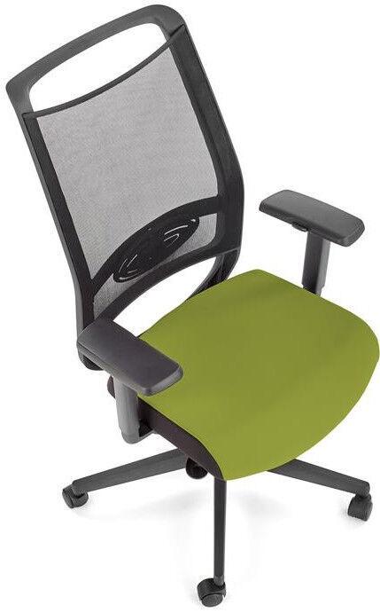 Halmar Bravo Office Chair C-11 Black/Green