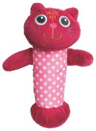 Oops Squeaker Toy Cat Pink 13006.21