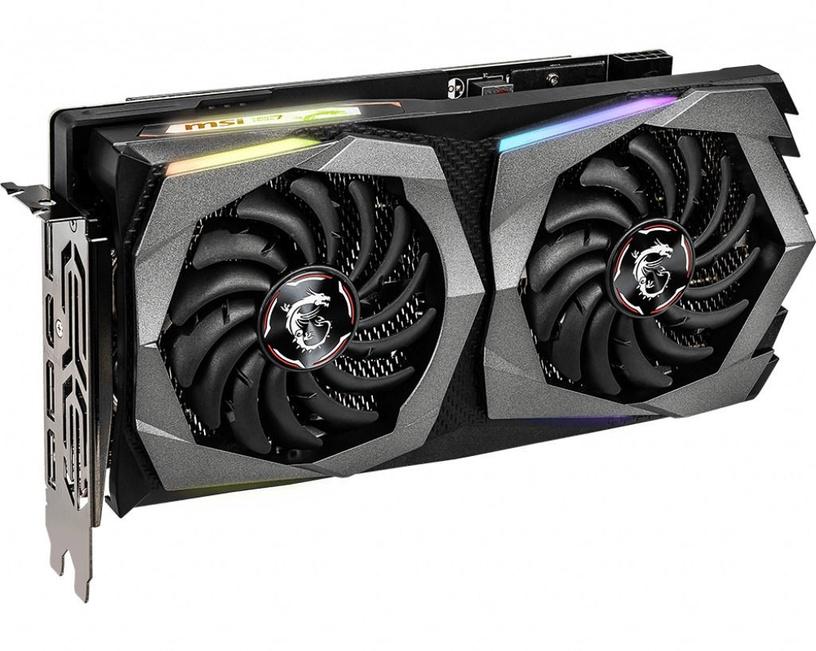 Vaizdo plokštė MSI GeForce RTX 2060 RTX2060GAMINGZ6G 6 GB GDDR6