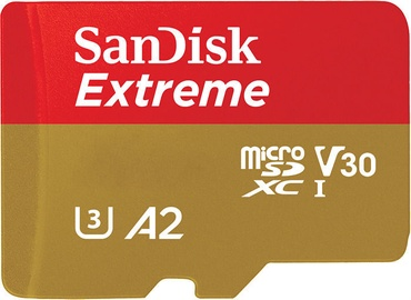 SanDisk Extreme 256GB microSDXC UHS-I Class 10 + Adapter