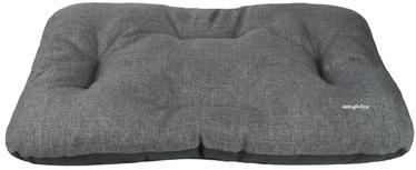 Amiplay Palermo Rectangular Cushion L 75x55x8cm Dark Gray