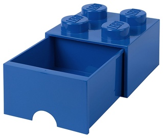 LEGO Storage Brick Drawer 4 Blue
