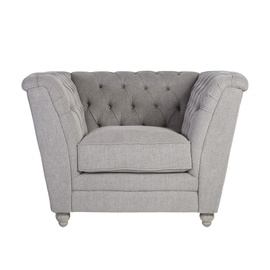 Home4you Watson Armchair 115x88x88cm Grey