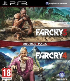 Игра для PlayStation 3 (PS3) Far Cry 3 & 4 Double Pack PS3
