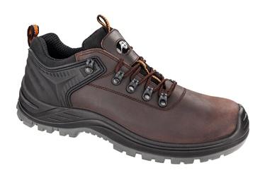 Vyriški darbiniai batai Albatros, be aulo, rudi, 43 dydis