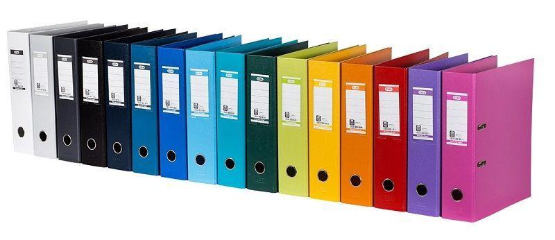 Elba Strong-Line Folder 8cm Gray