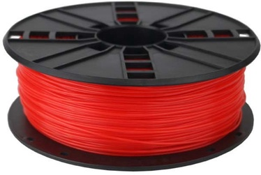 Gembird PLA Filament 1.75mm 1kg Fluorescent Red