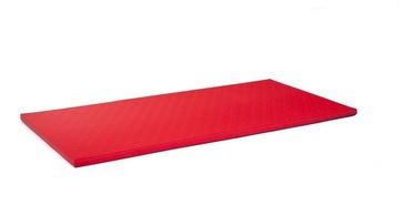 Fitnesa un jogas paklājs Ring Sport 195378, sarkana, 200 cm x 100 cm x 4 mm