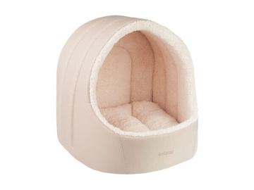 Кровать для животных Amiplay Aspen Oval M, кремовый, 400x400 мм
