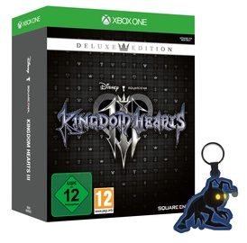 Kingdom Hearts III Deluxe Edition incl. Light Up Heartless Keyring Xbox One