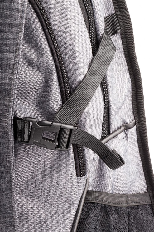 Natec Notebook Backpack ALPACA, 15,6'' Grey