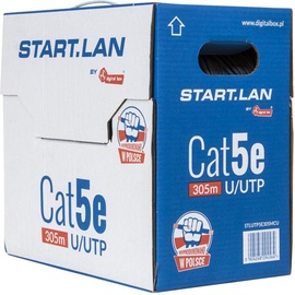 Digitalbox Start. LAN UTP Cat. 6 Cable 305m White
