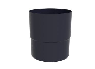 Scala Plastics Pipe Connector D80 Graphite