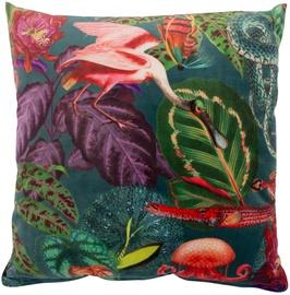 Декоративная подушка Home4you Holly, многоцветный, 450 мм x 450 мм