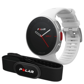 Polar Vantage V White M + Polar H10 Heart Rate Belt