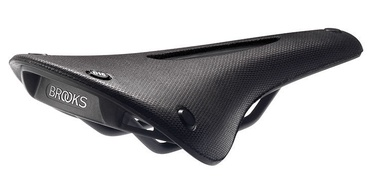 Brooks England Cambium C15 Carved All Weather 145mm Black
