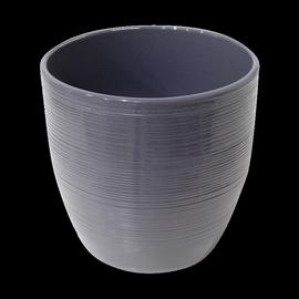 SN Ceramic Flower Pot Ø13.5cm Grey/Violet