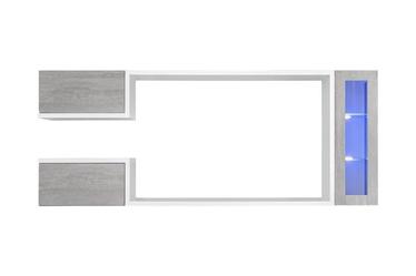 ASM Galaxy Living Room Wall Unit Set White/Grey