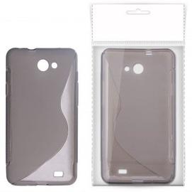KLT Back Case S-Line Nokia C3-00 Silicone/Plastic Black/Transparent
