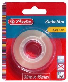 Līmlente Herlitz Film Clear, 33000 mm x 19 mm