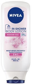Nivea In Shower Body Lotion 400ml Radiant Silk