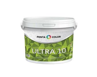 Dispersiniai dažai Pentacolor Ultra 10, balti, 10 l