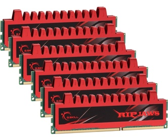 G.SKILL Ripjaws 24GB 1600MHz DDR3 CL9 KIT OF 6 F3-12800CL9T2-24GBRL