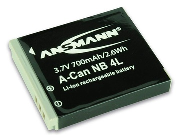 Ansmann A-Can Replacement Battery NB 4 LH LI 3.7V