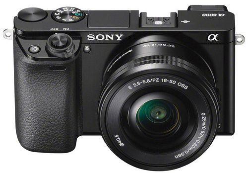 Sony Alpha A6000 Black + 16-50mm