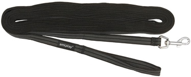 Siksna Amiplay Rubber, melna, 1 m