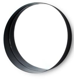Mondex Alexia Mirror Black 30cm