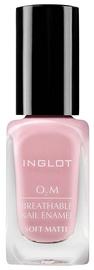 Inglot O2M Breathable Nail Enamel Soft Matte 11ml 506