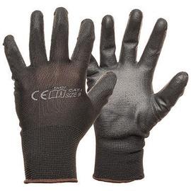Рабочие перчатки Monte Nylon Knitted Gloves With PU Black 11