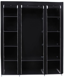 Skapis Songmics Black, 150x45x180 cm