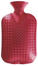 Fashy Hot Water Bottle 6420 42 2l Red