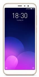 Mobilusis telefonas Meizu M6T Gold, 16 GB