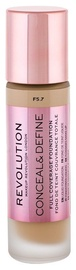 Makeup Revolution London Conceal & Define Foundation 23ml F5.7