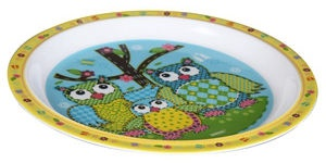 Banquet Owl Plate 21cm Yellow