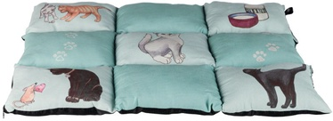 Trixie Patchwork Blanket Cat Mint 70x55cm