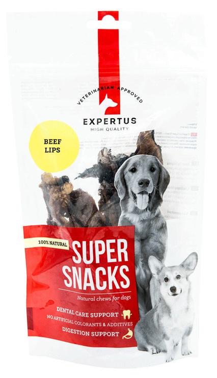 Skanėstai šunims, 100% jaučių lūpos, 100 g.
