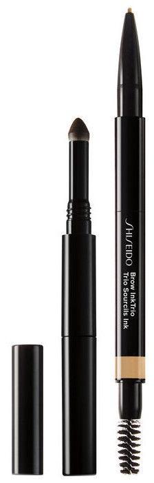 Uzacu zīmulis Shiseido Brow InkTrio 01, 0.3 g