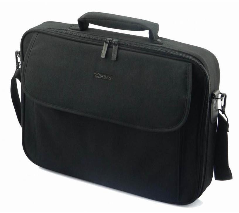 Сумка для ноутбука Sbox, черный, 17.3″
