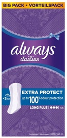 Always Dailies Extra Protect Panty Liners Long Plus 44pcs