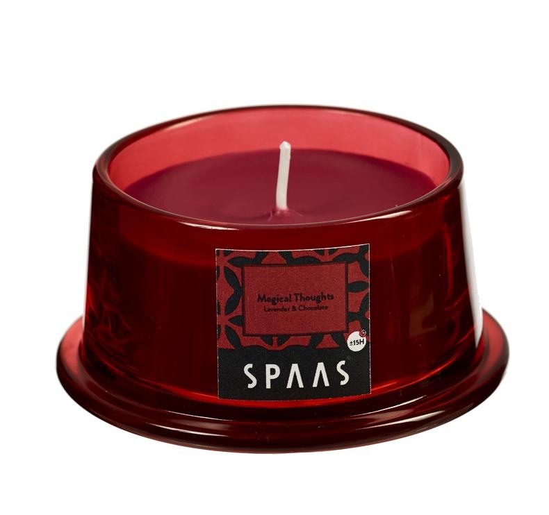 Ароматическая свеча Spaas Lavender&Chocolate, 15 h