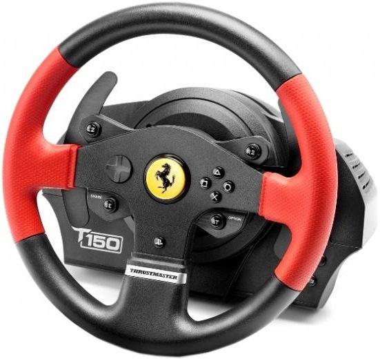thrustmaster racing wheel t150 ferrari edition ps4 ps3. Black Bedroom Furniture Sets. Home Design Ideas